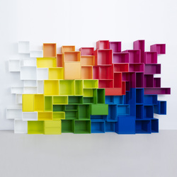 Cubit shelving system | Sistemas exposiciones | Cubit