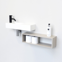 Edit handrinse cabinets | Badregale | Not Only White B.V.