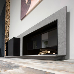 Piano Fuoco | Wood burning stoves | antoniolupi