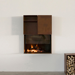 Skema | Wood burning stoves | antoniolupi