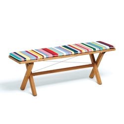 Cross Bench 140 | Garden benches | Weishäupl