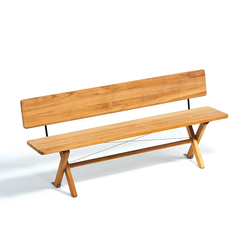 Cross Bench 180 | Garden benches | Weishäupl