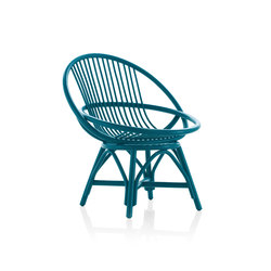 70s reedited Radial Armchair | Lounge chairs | Expormim