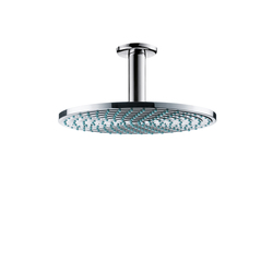 Hansgrohe Raindance Air Overhead Shower Ø240mm EcoSmart DN15 with ceiling connector 100mm | Shower taps / mixers | Hansgrohe
