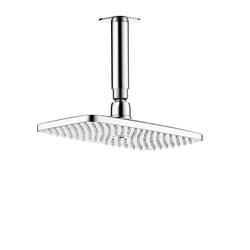 Hansgrohe Raindance E 240 Air 1jet Overhead Shower DN15 with 100mm ceiling connector | Shower taps / mixers | Hansgrohe