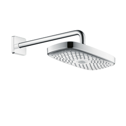 Hansgrohe Raindance Select E 300 2jet Overhead Shower with shower arm 390 mm DN15 | Shower taps / mixers | Hansgrohe