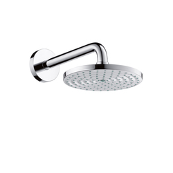 Hansgrohe Raindance Air Plate Overhead Shower Ø180mm DN15 shower arm 240mm | Shower taps / mixers | Hansgrohe