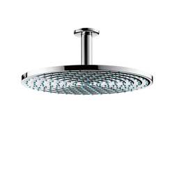 Hansgrohe Raindance Air Plate Overhead Shower Ø300mm DN15 with ceiling connector 100mm | Shower taps / mixers | Hansgrohe