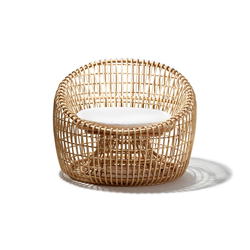 Nest Lounge chair | Poltrone | Cane-line