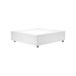 Panton Low Lounge White | Table | Couchtische | Verpan