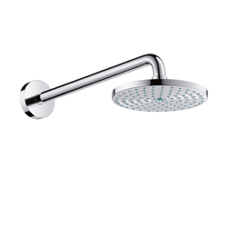 Hansgrohe Raindance Air Overhead Shower Ø 180mm EcoSmart DN15 with shower arm 240mm | Shower taps / mixers | Hansgrohe