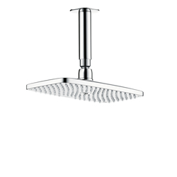 Hansgrohe Raindance E 240 Air 1jet EcoSmart overhead shower with ceiling connector 100mm DN15 | Shower taps / mixers | Hansgrohe