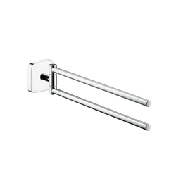 Hansgrohe PuraVida Double Towel Holder | Towel rails | Hansgrohe