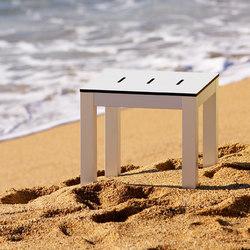 Mar de Aluminio Taburet | Taburetes de jardín | Sistema Midi