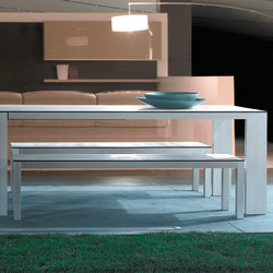 Mar de Aluminio Extending Tables | Dining tables | Sistema Midi