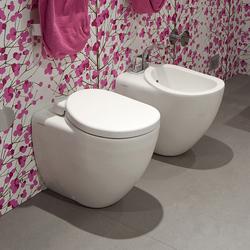 IO wc | bidet | Toilets | Ceramica Flaminia