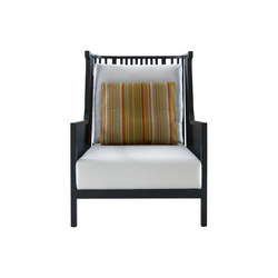 Elizabeth | Armchair Black Stained Ash Complete Item | Armchairs | Ligne Roset