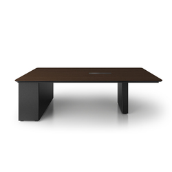 X6 Hide Desk | Multimedia conference tables | Holzmedia
