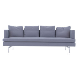 Stricto Sensu Contract | Large Settee Aluminium Base Complete Item | Sofas | Ligne Roset