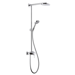 Hansgrohe Raindance 180 Showerpipe Single Lever Mixer EcoSmart DN15 | Shower taps / mixers | Hansgrohe