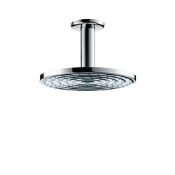 Hansgrohe Raindance Air Plate Overhead Shower Ø180mm DN15 with ceiling connector 100mm | Shower taps / mixers | Hansgrohe