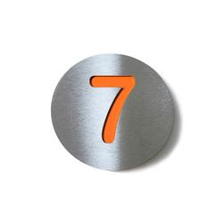 radius house number | Numerals | Radius Design