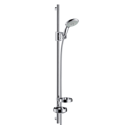 Hansgrohe Raindance E 100 Air 3jet|Unica'D Set 0.90m DN15 | Shower taps / mixers | Hansgrohe