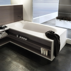 Via Veneto | Built-in bathtubs | Falper