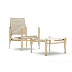 Safari chair | Loungesessel | Carl Hansen & Søn