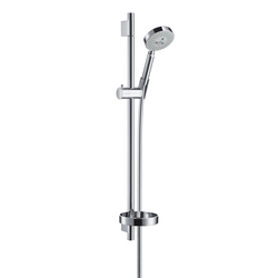 Hansgrohe Raindance S 100 Air 3jet EcoSmart|Unica'S Puro Set 0,65 m DN15 | Shower taps / mixers | Hansgrohe