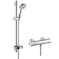 Hansgrohe Raindance S 100 Ecostat Combi 0.65mm DN15 | Shower taps / mixers | Hansgrohe