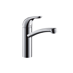 Hansgrohe Focus E Single Lever Kitchen Mixer DN15 for vented hot water cylinders | Kitchen taps | Hansgrohe