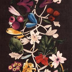 Flowers col. 004 | Vorhangstoffe | Dedar