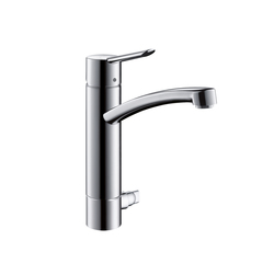 Hansgrohe Focus S Single Lever Kitchen Mixer DN15 with device shut-off valve | Kitchen taps | Hansgrohe