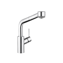 Hansgrohe Talis S Single Lever Kitchen Mixer SemiArc DN15 with pull-out spray | Kitchen taps | Hansgrohe