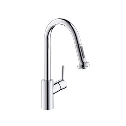 Hansgrohe Talis S² Single Lever Kitchen Mixer DN15 with pull-out spray | Kitchen taps | Hansgrohe