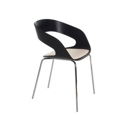 Chat 4-leg chair | Chairs | Plycollection