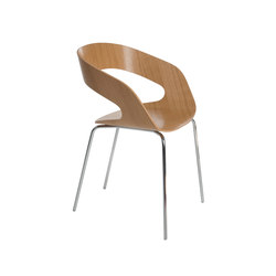 Chat 4-leg chair | Besucherstühle | Plycollection