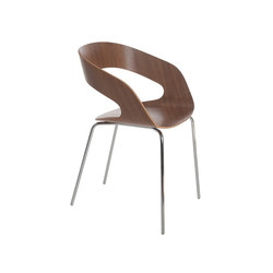 Chat 4-leg chair | Sillas de visita | Plycollection