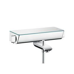 Hansgrohe Focus Ecostat Select Thermostatic Bath Mixer for exposed fitting DN15 | Bath taps | Hansgrohe