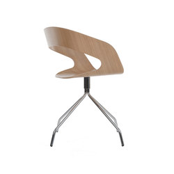 Chat swivel chair | Visitors chairs / Side chairs | Plycollection