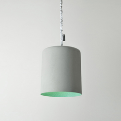 Bin cemento turquoise | Suspended lights | IN-ES.ARTDESIGN