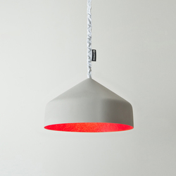 Cyrcus cemento red | Suspended lights | IN-ES.ARTDESIGN