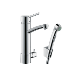 Hansgrohe Focus basin mixer Talis S chrome with | Wash-basin taps | Hansgrohe