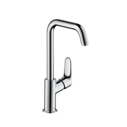 Hansgrohe Focus Single Lever Basin Mixer 240 DN15 with swivel spout 120° range | Wash-basin taps | Hansgrohe