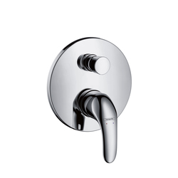 Hansgrohe Focus Single Lever Bath Mixer for concealed installation | Bath taps | Hansgrohe