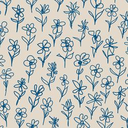 Blümchen I Beet | col2 | Bespoke fabrics | Sabine Röhse