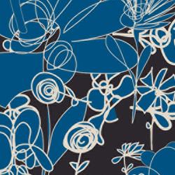 Blümchen I Wiese | col1 | Bespoke fabrics | Sabine Röhse