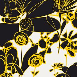 Blümchen I Wiese | col2 | Bespoke fabrics | Sabine Röhse