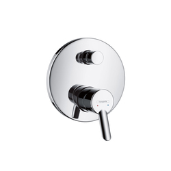 Hansgrohe Focus E² Single Lever Bath Mixer for concealed installation | Bath taps | Hansgrohe